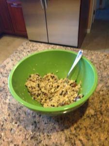 chia oatmeal cookie