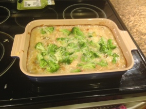 chicken and broccholi dinner