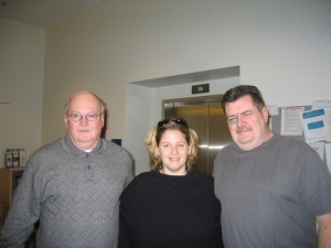 Steve, Sam, and Bob during treatment