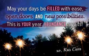 Abundance Awaits