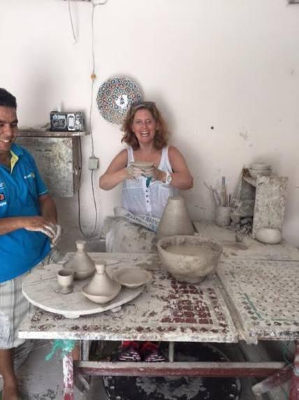making-pottery